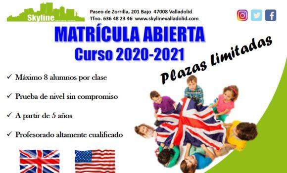 Matrícula Abierta Curso 2020-2021