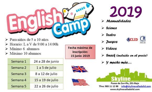 Campamento Urbano de Inglés