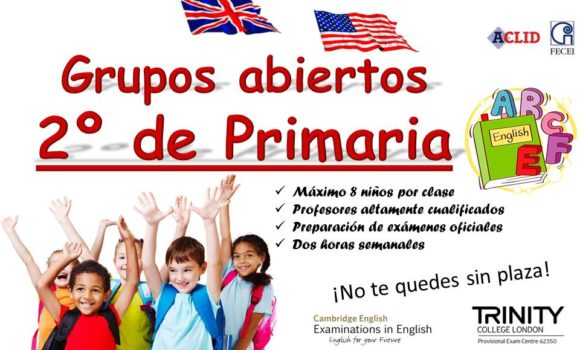 Primaria 2 inglés